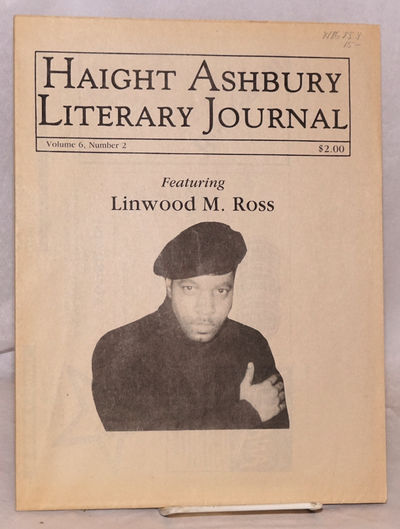 San Francisco: Haight Ashbury Literary Journal, 1992. Newspaper. 16p. folded tabloid newspaper, illu...