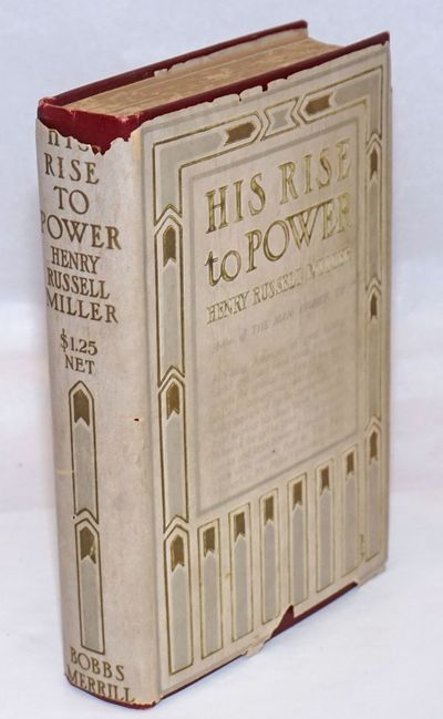 Indianapolis: Bobbs-Merrill, 1911. Hardcover. 377p., fore edges lightly discolored else very good co...
