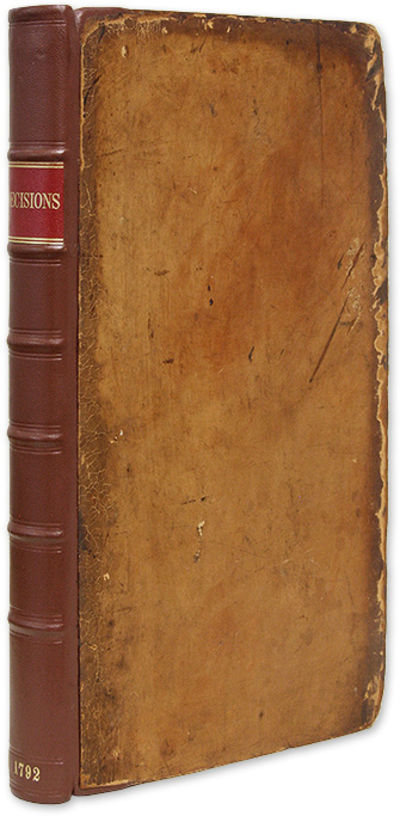 1792. Decisions in the Court of Session Bruce, Alexander . Decisions of the Court of Session, From N...