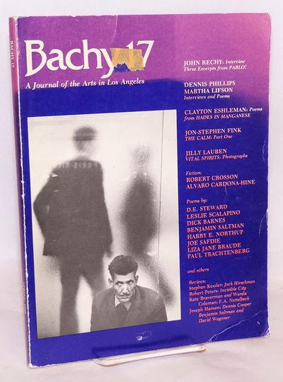 West Los Angeles: Papa Bach Paperbacks, 1980. Magazine. 160p., 8.5x11 inches, photos, light worn sun...