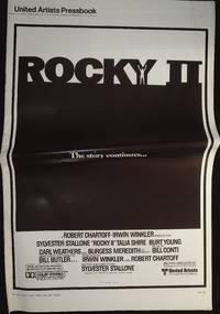 image of Rocky II Pressbook 1979 Sylvester Stallone, Talia Shire