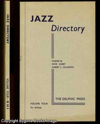 The Directory of Recorded Jazz and Swing Music (including Gospel and Blues records), Volume Four