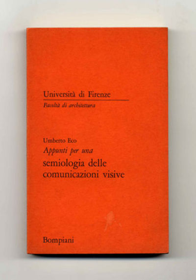 Milano: Bompiani. Near Fine. 1967. First Edition; First Printing; Signed by Author. Softcover. First...