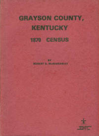 image of Grayson County, Kentucky 1870 Census