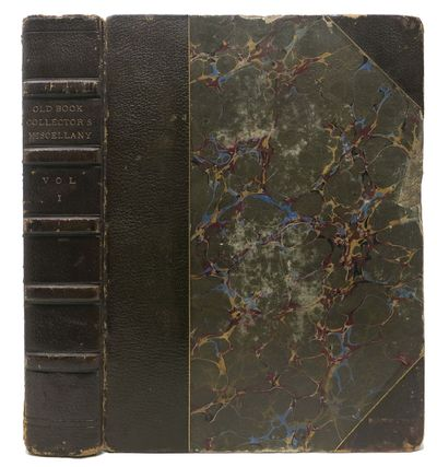 London: Reeves and Turner, 1871. Later Edition. Half calf, marbled wrapped boards, five raised bands...