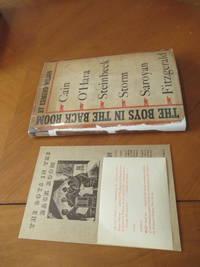 The Boys In The Back Room: Notes On California Novelists  (James M. Cain, John O'hara, William Sarolyan, Hans Otto Storm, John Steinbeck, Etc.