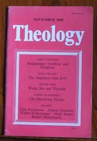 Theology November 1980 : Vol LXXXIII November 1980 No. 696