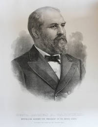Lithographic Portraits of the Republican and Democratic Candidates in the Election of 1880, James A. Garfield, Chester A. Arthur and Winfield Scott Hancock and William English