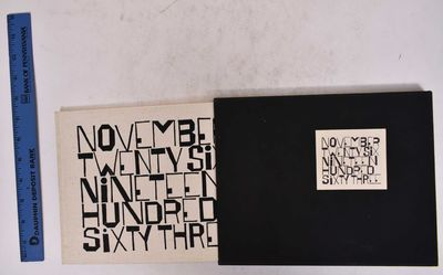 NY: George Braziller, 1964. 1st Edition SIGNED by Shahn and Berry on rear colophon. Hardcover. VG, t...