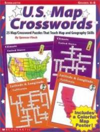 U.S. Map Crosswords (Grades 4-8)