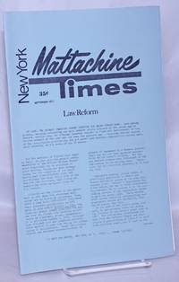 New York Mattachine Times: September 1971: Law Reform