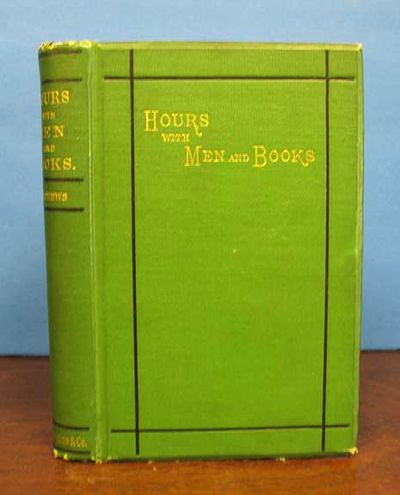 Chicago: S.C. Griggs and Co, 1877. 1st edition. Green cloth binding with black and gilt stamping. VG...