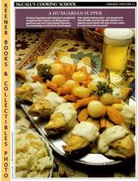 McCall's Cooking School Recipe Card: Chicken, Poultry 23 - Chicken  Paprikash With Galuska...