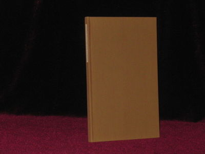 Iowa City: Stone Wall Press, 1969. First Edition. Hard Cover. Fine. Octavo. SIGNED AND INSCRIBED BY ...