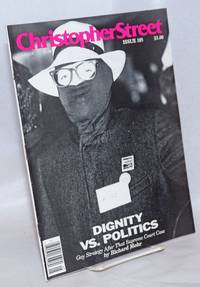 Christopher Street: vol. 9, #9, whole issue #105, November 1986; Dignity vs Politics