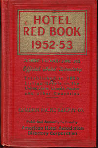The Official Hotel Red Book and Directory 1952-53