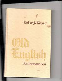 Old English An Introduction
