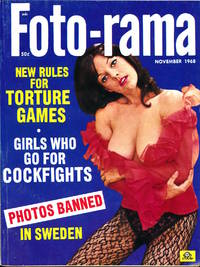 Foto-rama (Vintage tabloid pin-up digest magazine, 1968)