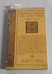 image of Dramatic Legends and Other Poems (SIGNED First Edition) 1922