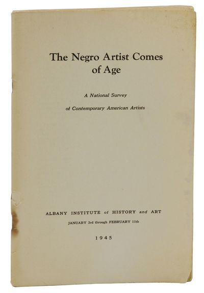 Albany: Albany Institute of History and Art, 1945. First Edition. About Very Good. First edition. Or...