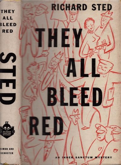 New York: Simon and Schuster, 1954. First Edition. Hardcover. Good/good. Octavo. , 209 pages. Yellow...