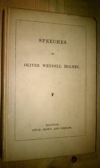 image of SPEECHES BY OLIVER WENDELL HOLMES