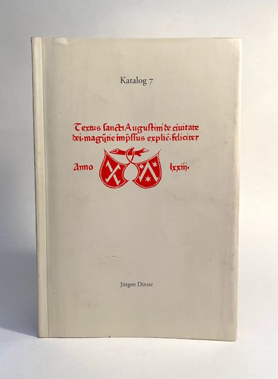 Koln: Jurgen Dinter. FIRST EDITION. Softcover. Very good. Minor pencil notation, minor wear to cover...