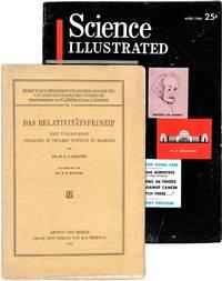 Das Relativitätsprinzip Drei Vorlesungen Gehalten In Teylers Stiftung Zu Haarlem; [1st appearance in print of e=Mc2]