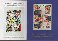 THE PRINTS OF SAM FRANCIS: A Catalogue Raisonne 1960-1990. Volume I: Lithographs; Volume II: Intaglio Prints, Screenprints and Posters plus exhibition brochure.