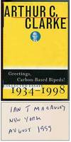 image of Greetings, Carbon-Based Bipeds!: Collected Essays 1934-1998