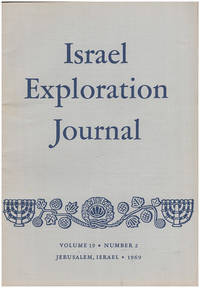 Israel Exploration Journal (Vol 19, No. 2, 1969)