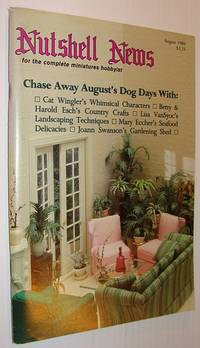 Nutshell News Magazine - For the Complete Miniatures Hobbyist, August 1986 - Chase Away August's Dog Days!