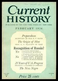 CURRENT HISTORY - Volume 23, number 5 - February 1926