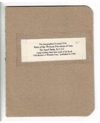 Parts of the Western provinces of Iran from surveys made in 1935-36 under the direction and with the assistance of Sir Aurel Stein...by Surveyor Muhammad Ayub Khan, with additions from the maps of the survey of India