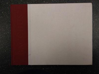 Rome: Gagosian Gallery, 2005. First Edition. Hardcover. thin oblong folio, 55 pp., VG-; quarter-boun...
