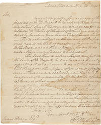 [AUTOGRAPH LETTER, SIGNED, FROM GEORGE WASHINGTON TO JAMES HENRY, DISCUSSING THE OWNERSHIP STATUS...
