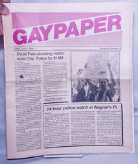 image of Gaypaper [aka Baltimore Gay Paper] vol. 11, #18, Friday June 1, 1990: Druid Park Shooting