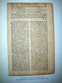 Cato's Moral Distichs Reproduced from the Edition Printed in Philadelphia in 1735 By Benjamin Franklin