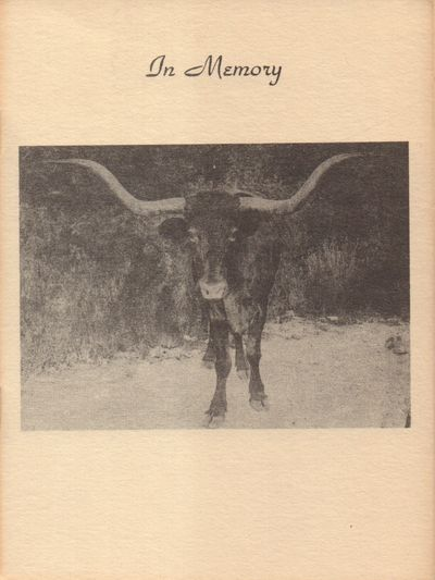 Enid, Oklahoma. Very Good. 1949. Softcover. Tan wrapper has a photo of a steer. Light toning on wrap...
