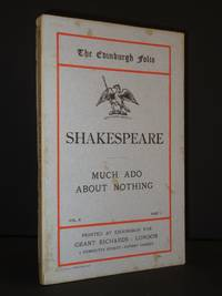 Much Ado About Nothing by William Shakespeare - 1st Edition  - 1901 - from Tarrington Books and Biblio.com