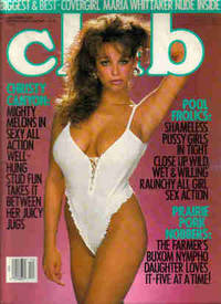 Club Magazine December, 1989, Vol. 15, No. 11 by Club Magazine : Maria Whittaker, Christy Canyon, Belle, Marilyn Chambers, Charli, Samantha, Jess, Jodie - 1989