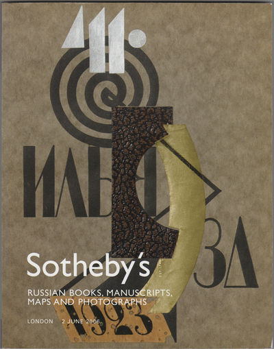 London: Sotheby's (Sotheby Parke Bernet & Co.), 2006. First edition. Illustrated paper wrappers. Lig...