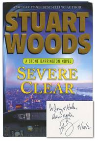 Severe Clear (First Edition, inscribed to film director and producer Tony Bill)