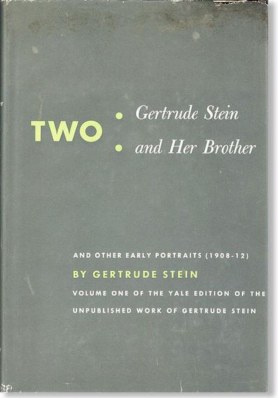 New Haven: Yale University Press, 1951. First Edition. Octavo (24cm.); original cloth in dark grey d...