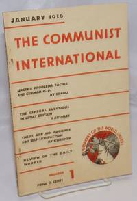 image of The Communist International. Volume 13 No. 1 (June 1936)