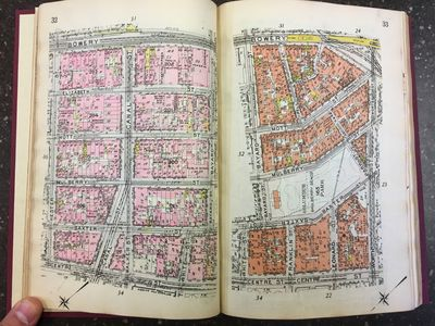 New York: E. Belcher Hyde, 1912. First Edition. Hardcover. Octavo, 24 pages, 472 pages of color maps...