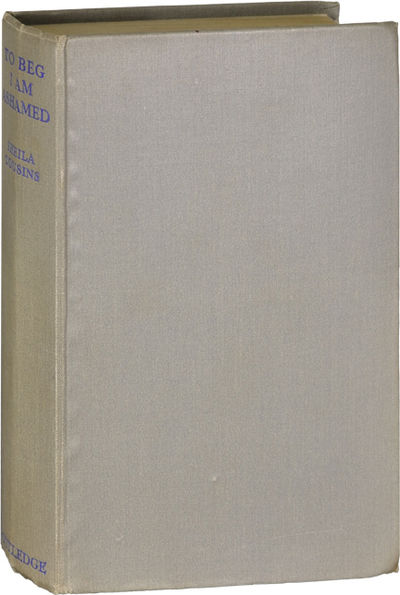 London: Routledge, 1938. First Edition. First Edition. A fictitious