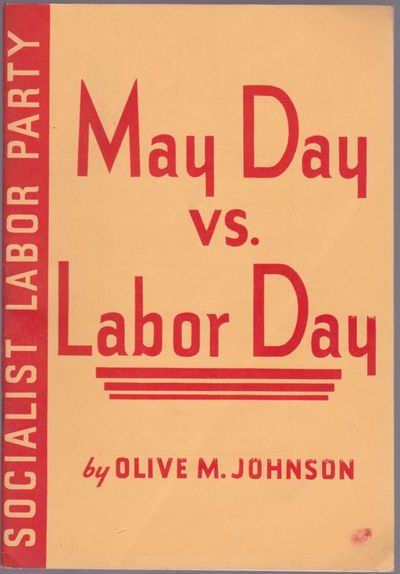 New York: New York Labor News Company, 1936. First Edition. 12mo (7 1/4 x 5 inches; 183 x 126 mm), 4...