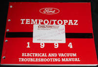image of 1994 Tempo/Topaz: Electrical and Vacuum Troubleshooting Manual FPS-12124-94 Service Manual