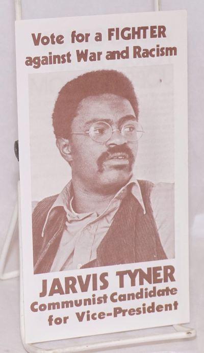 San Francisco: Hall-Tyner Election Campaign Committee, 1976. 4p., 4x7 inch brochure.